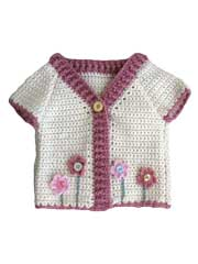 Flower Garden Cardigan Crochet Pattern
