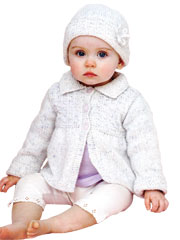 Girls Coat and Hat Knit Pattern