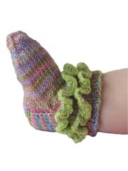 Rufflicious Socks Knit Pattern