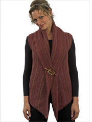 Woman's 2 - Piece Vest Knit Pattern