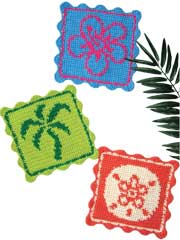 Summer Silhouette Dishcloths