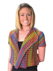 Taffy Jacket Crochet Pattern
