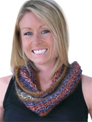 One Ball Wonder Cowl/Scarf Knit Pattern