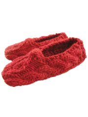 Sweetheart Slippers Knit Pattern
