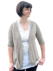 Contented Cardigan Knit Pattern