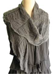 Shawl Collar Shawl Knit Pattern