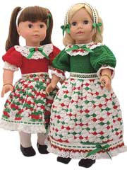 Holly & Ivy for 18-inch dolls