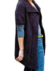 Cassis Cardigan Knit Pattern