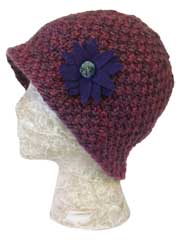 Clematis Cloche Knit Pattern