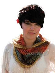 Paintbrush Lace Cowl Knit Pattern