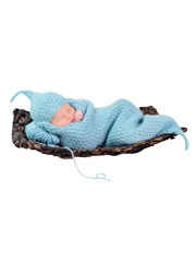 Cushy Cocoon Layette Knit Pattern