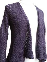 Serenity Cardigan Knit Pattern