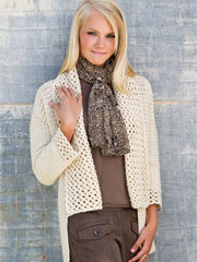 Lace-Collar Cardigan