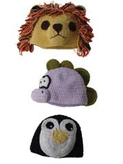 Animal Hats Crochet Pattern