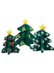 Soft Sculpture Christmas Tree Crochet Pattern Pack