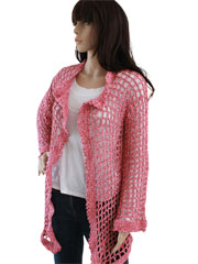 Super Easy Filet Cardigan Pattern Pack