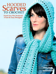 Hooded Scarves To Crochet Pattern