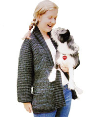 A Girl and Her Dog Knit Pattern