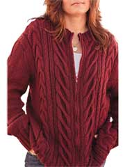 Jenn's Husbands Cardi Knit Pattern