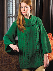 Verde Cowl-Neck Sweater