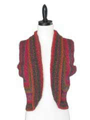 Diagonal Matrix Vest Knit Pattern