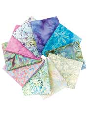 Cool Breezes Fat Quarters-10/pkg.