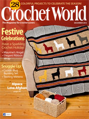 Crochet World December 2012