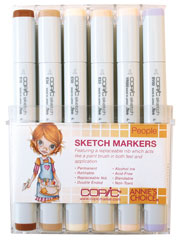 Copic People 12 pc Sketch Set