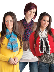 Beginner Key Hole Scarves