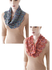 Easy Shaped Cowls to Crochet Pattern