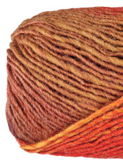 Noro Kureyon Brown, Red, Gold