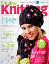 Creative Knitting Winter 2012