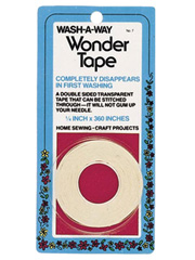 "1/4"" Wash-A-Way Wonder Tape"