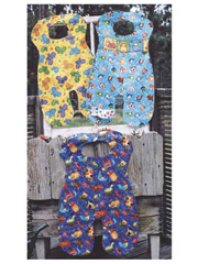 """Overall"" Bib Sewing Pattern"