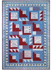 Baby Kisses Quilt Pattern or Fabric Panels