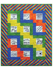 Grandma's Joy Quilt Pattern w/ Panel or Panels