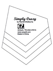 Simply Crazy Quilt Template