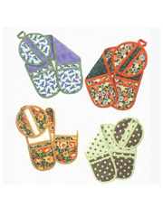 Keep Your Cool Oven Mitts Sewing Pattern