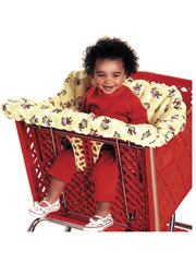 Shopping Cart Seat Cover & Diaper Bag Sewing Pattern