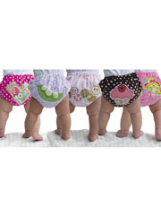 Smartie Pants 2 Diaper Cover Sewing Pattern