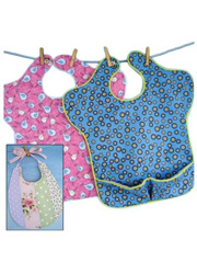 Sara Bib & Pieced Bib Sewing Patterns