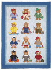 Bearly a Month Quilt Pattern
