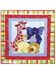 Jungle Babies Quilt Pattern