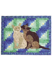 Cabin Cats Quilt Pattern
