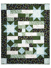 Beatitudes Panel w/ Quilt Pattern or Beatitudes Panel