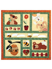 Bees, Bunnies & Bears Quilt Pattern