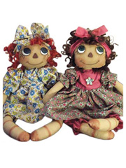 Flower Child Doll Sewing Pattern