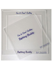 Batting Buddy 2 Piece Template Set