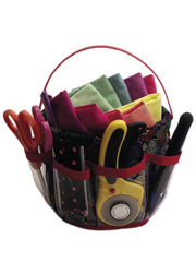 The Jitter Bucket Organizer Sewing Pattern