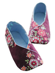 Woman Kimono Shoes Sewing Pattern